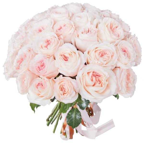 Букет-соло пионовидных роз Mayras Bridal (15,25,35,51,75 или 101) – фото № 4