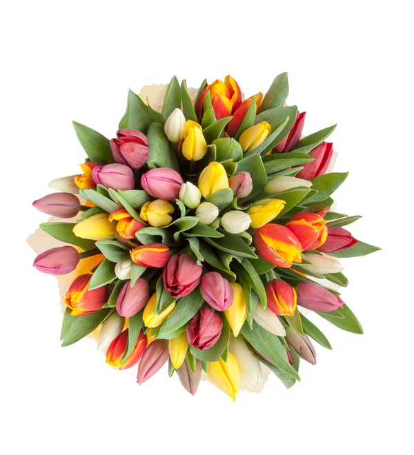 Bouquet of tulips Like it all (31 or 51) – photo #4
