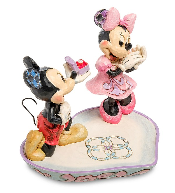 Фигурка Микки и Минни с кольцом (Disney) – фото № 2