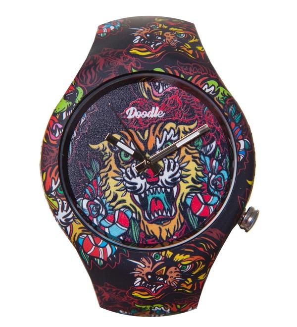 Часы Doodle Восточный тигр – фото № 1