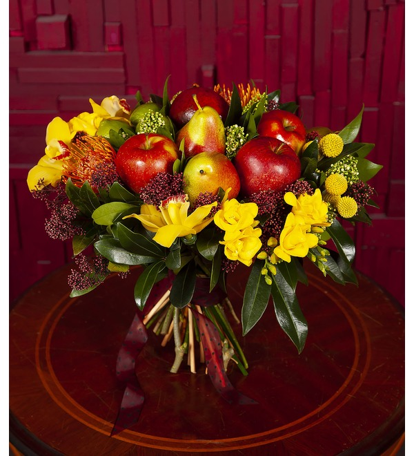 Bouquet with fruits Seductive aroma – photo #1