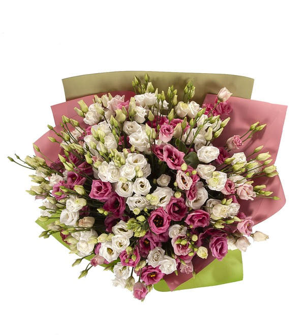 Bouquet-duet Eustoma (15,25,51 or 101) – photo #4