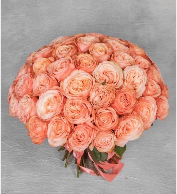 Букет эксклюзивных роз Kahala (51 или 101 роза) – фото № 1