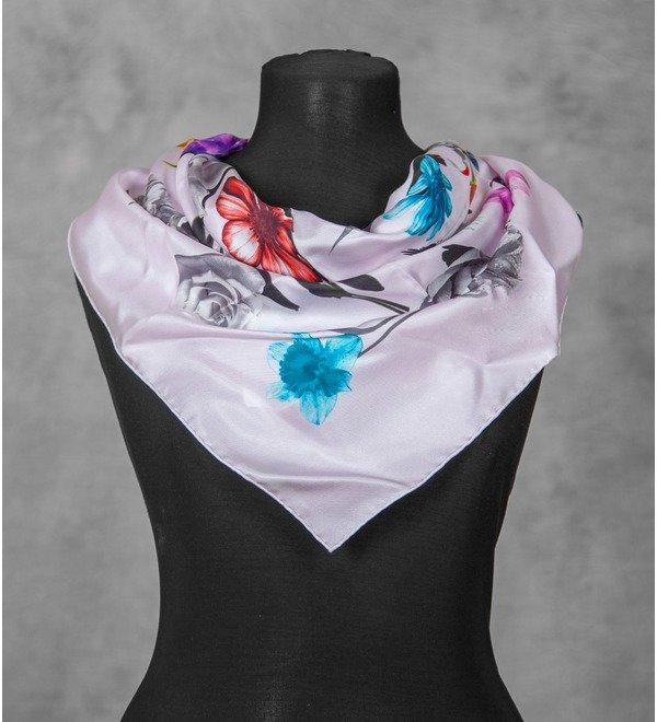 Silk scarf Christian Dior (Italy, 50х50 cm) – photo #3