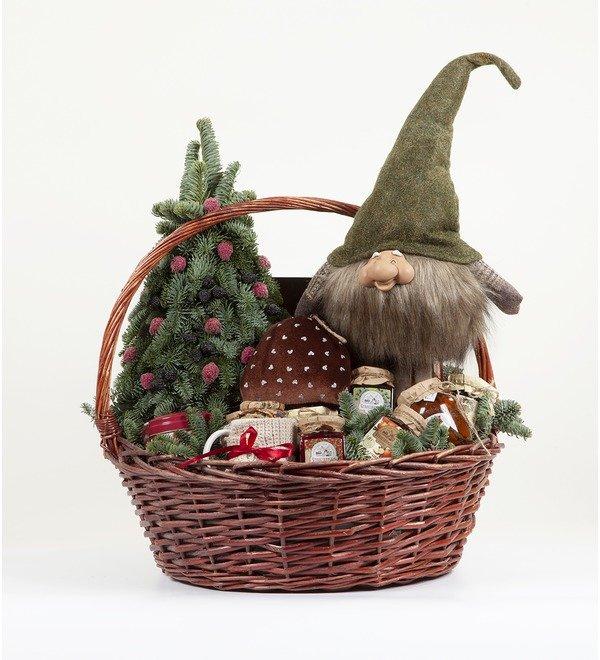 Подарочная корзина Подарки от гномика – фото № 5