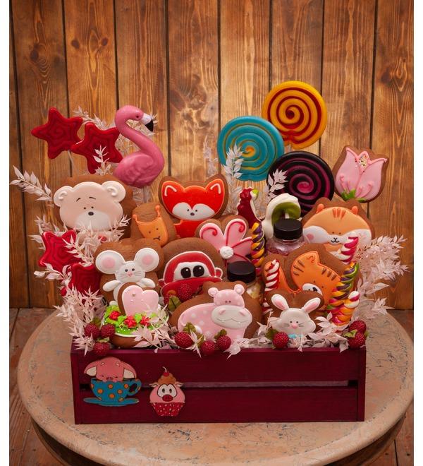 Подарочное кашпо Любимые сладости – фото № 1