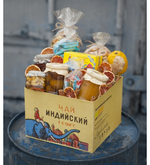 Подарочная коробка Индийский чай – фото № 1