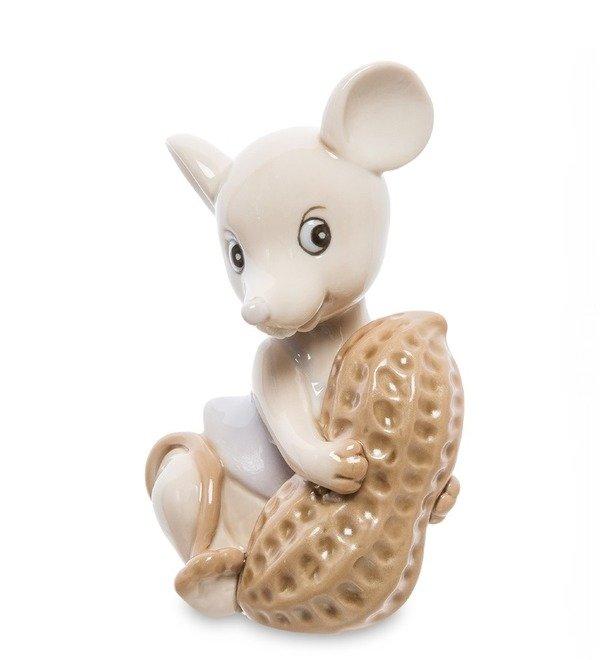 Статуэтка Мышка с орехом (Pavone) – фото № 1