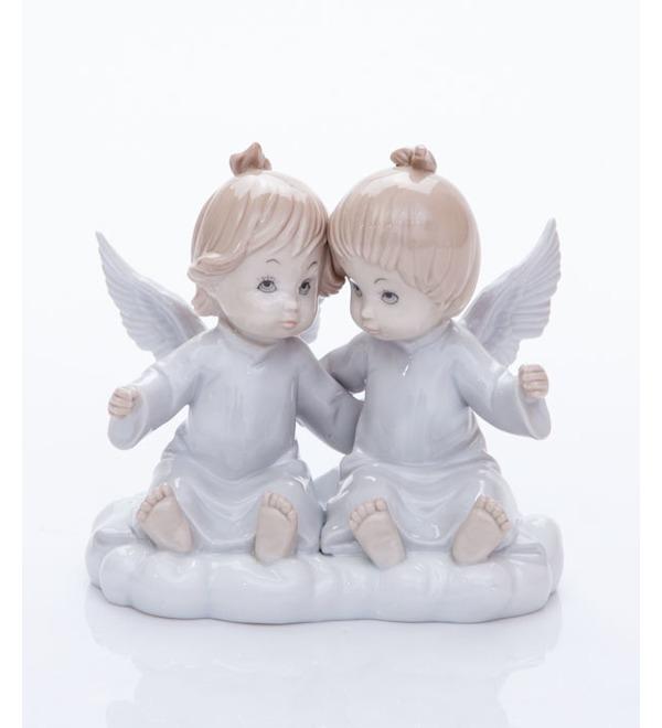 Статуэтка Ангелочки на облаке. Pavone, Италия – фото № 1