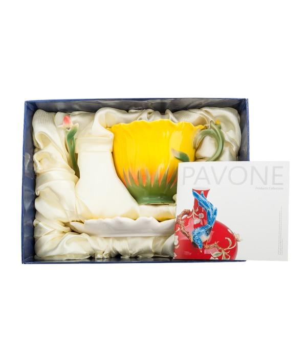 Чайная пара Подсолнух (Pavone) – фото № 3