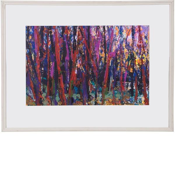 Картина В.П. Тюрин Лес 1990г. (60*80см.) – фото № 1