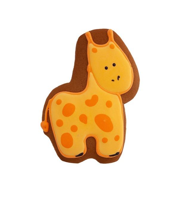 Имбирный пряник Жирафик – фото № 1