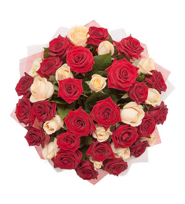 Букет из роз Взаимность – фото № 4