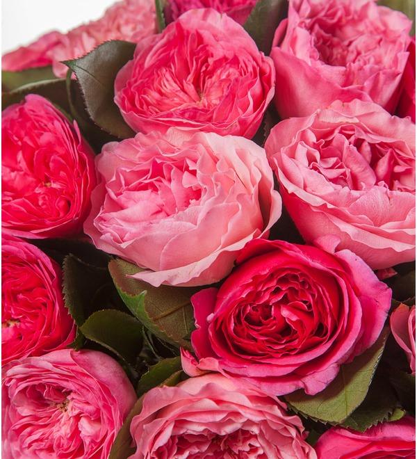 Букет из пионовидных роз Великолепие (15, 25 или 51) – фото № 3