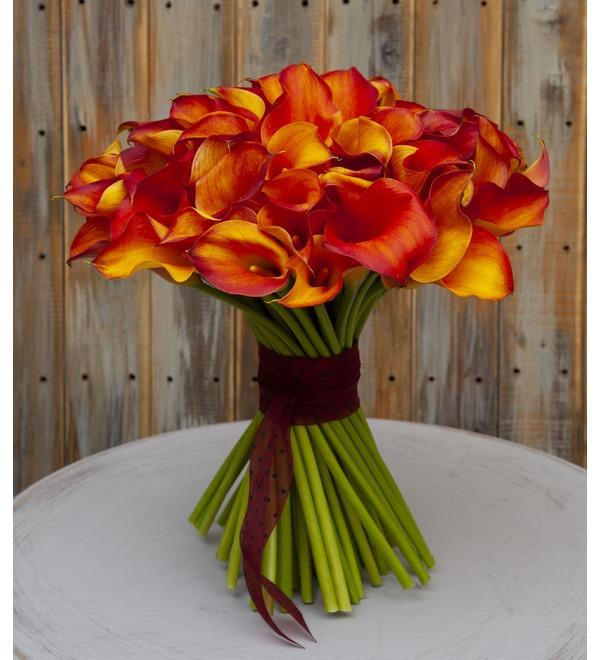 Bouquet-solo callas Mango (15,25,35,51 or 75) – photo #1