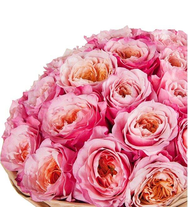 Букет-соло пионовидных роз Miyabi (15,25,35,51,75 или 101) – фото № 2