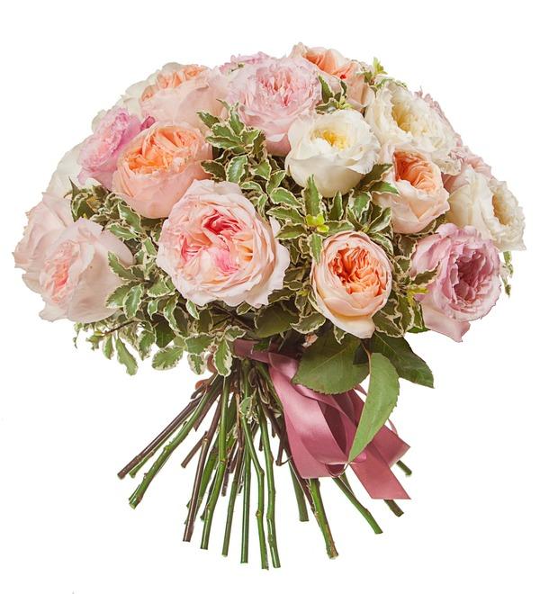 Bouquet-trio David Austin (15,25,51 or 75) – photo #4