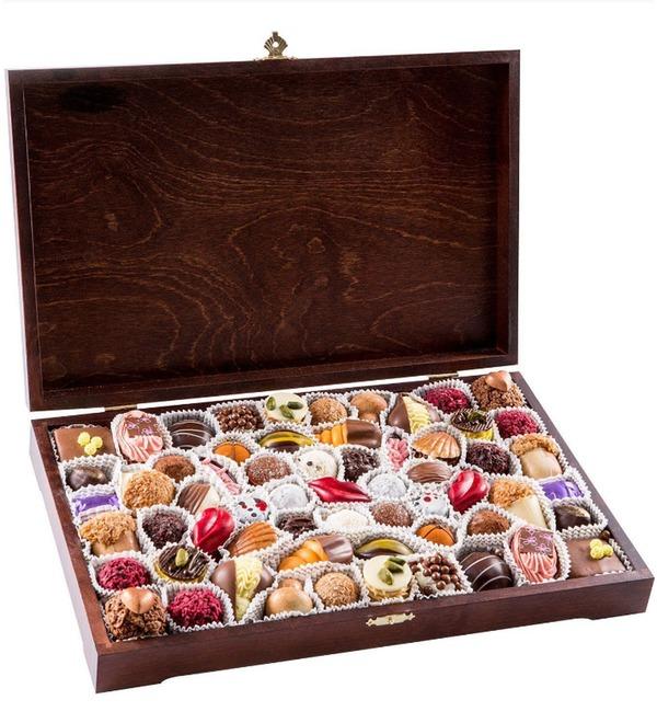 Конфеты ручной работы из бельгийского шоколада Миллениум – фото № 1