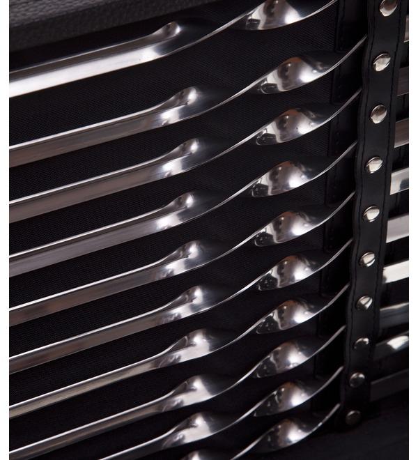 Подарочный набор для шашлыка в чемодане (31 предмет) – фото № 3