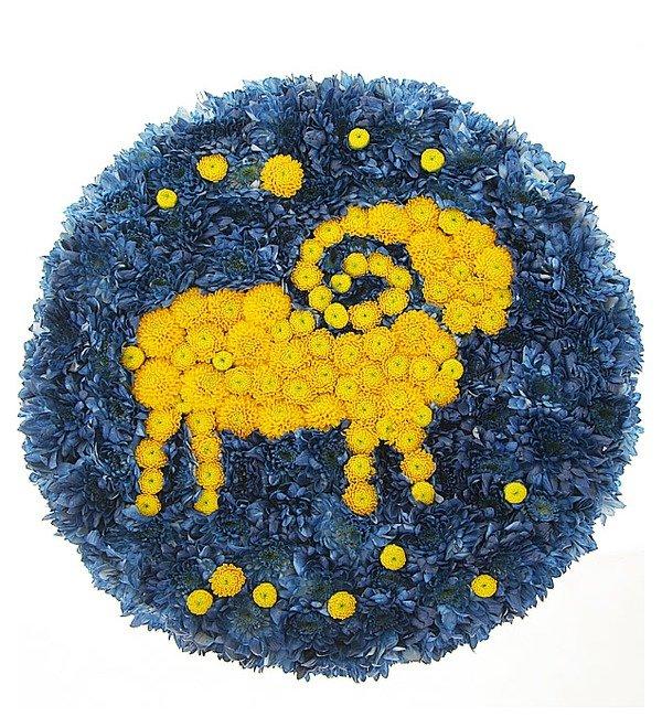 Композиция Знак зодиака Овен (21 марта - 20 апреля) – фото № 1