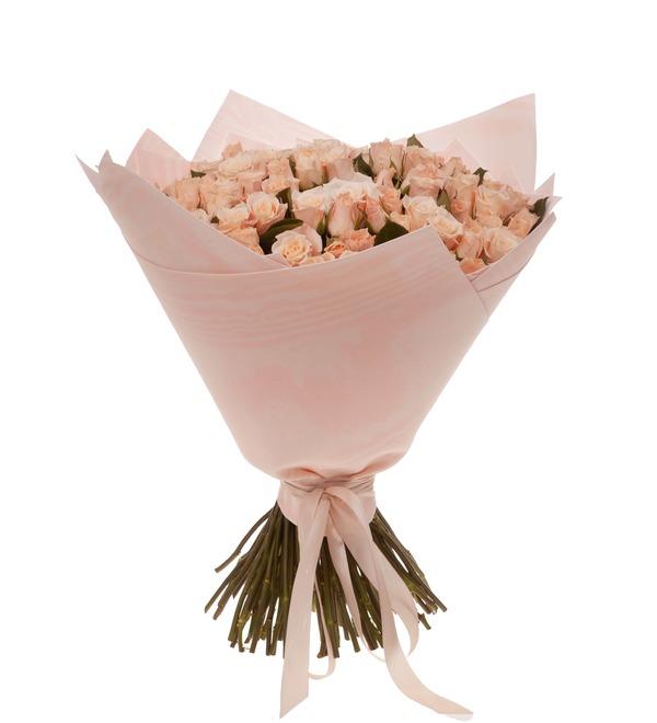 Букет-соло роз Medeo (15,25,35,51,75 или 101) – фото № 4