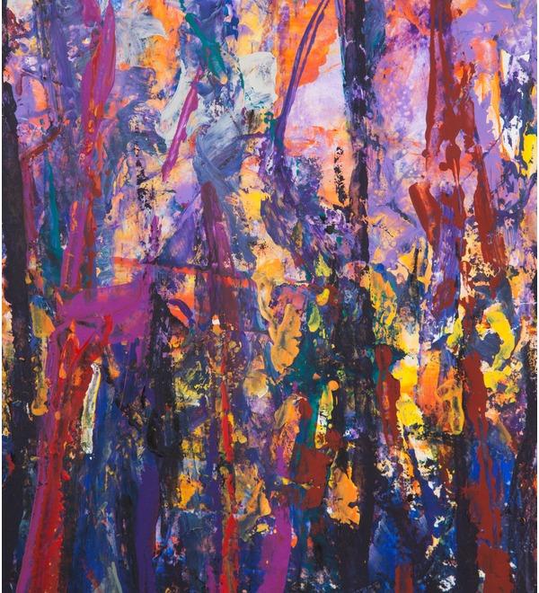Картина В.П. Тюрин Лес 1990г. (60*80см.) – фото № 2
