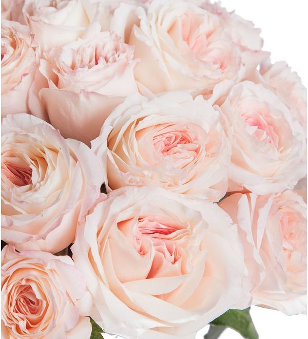 Букет-соло пионовидных роз Mayras Bridal (15,25,35,51,75 или 101) – фото № 3