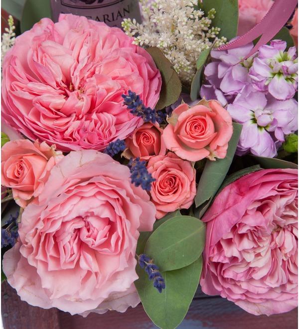 Композиция Розовый сад – фото № 4
