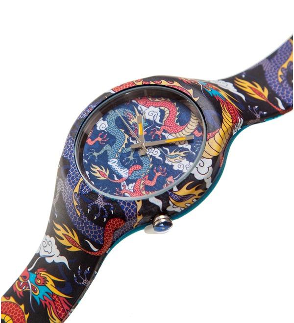 Часы Doodle Рыцарь драконов – фото № 2
