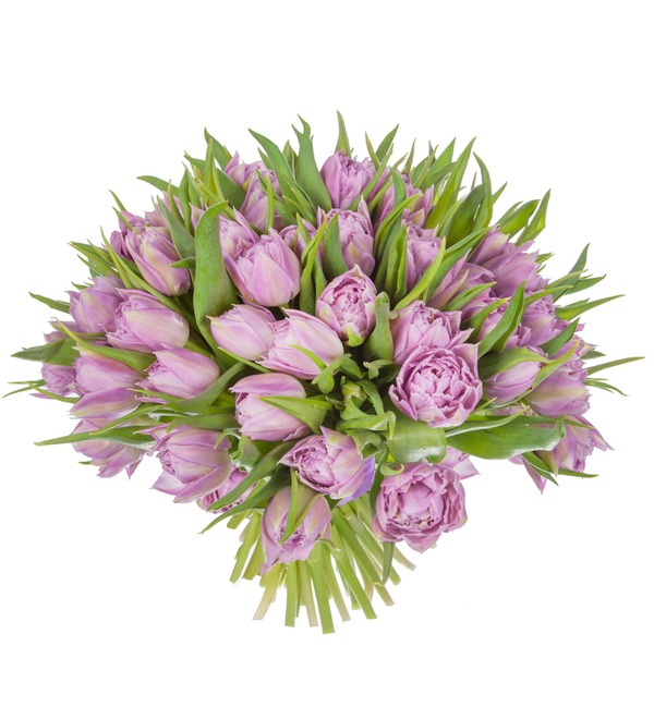 Bouquet of Double Price peony tulips (25, 51 or 101) – photo #5