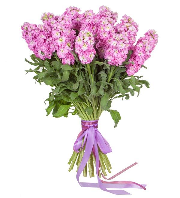 Букет розовой маттиолы (15, 25 или 51) – фото № 4