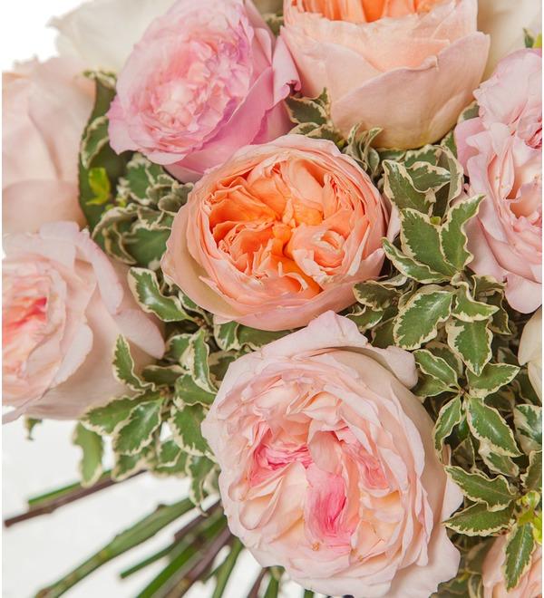 Bouquet-trio David Austin (15,25,51 or 75) – photo #3