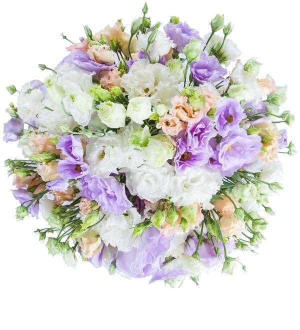 Bouquet of lisianthuses Summer Haze – photo #5