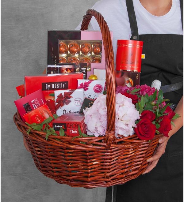 Gift basket Delicate petal – photo #1