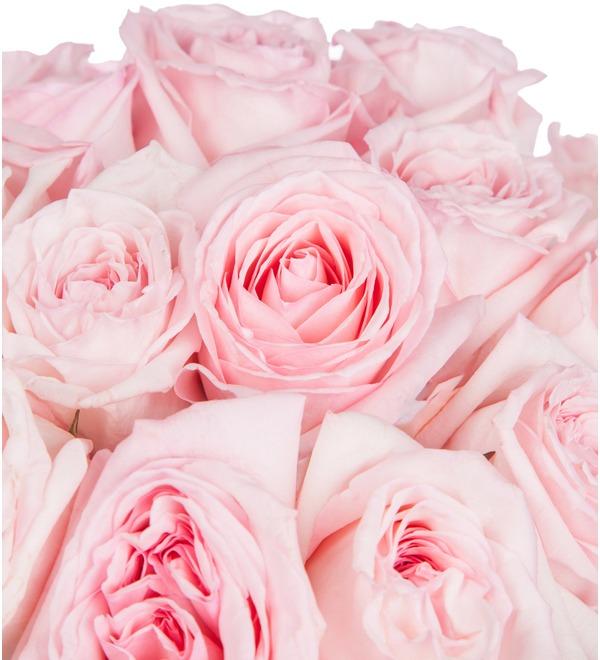 Букет ароматных пионовидных роз Pink OHara (15, 25 или 51) – фото № 2
