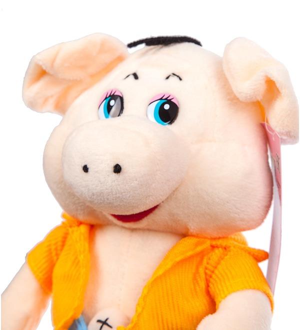 Мягкая игрушка Поросёнок Элвис (23 см) – фото № 2