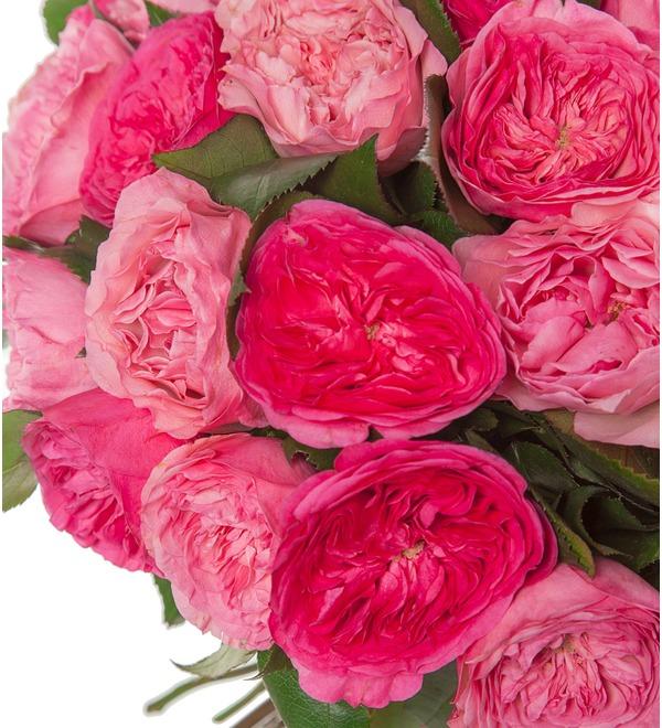 Букет из пионовидных роз Великолепие (15, 25 или 51) – фото № 2