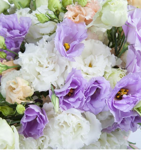 Bouquet of lisianthuses Summer Haze – photo #4