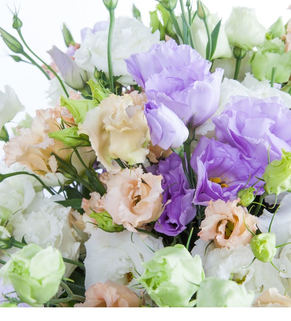 Bouquet of lisianthuses Summer Haze – photo #3