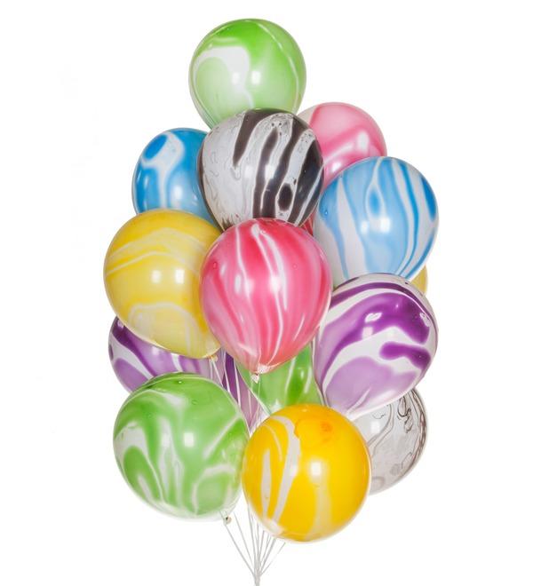 Букет шаров Агат (15 или 31 шар) – фото № 1