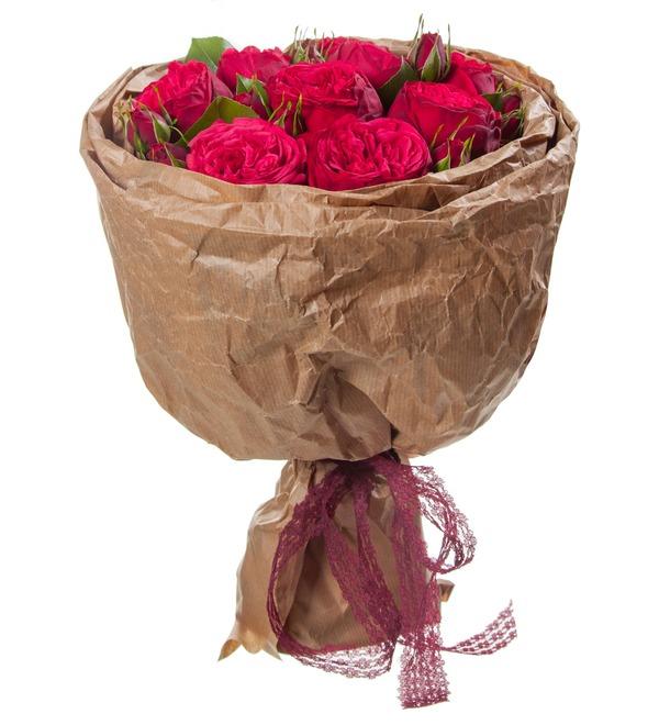 Букет из пионовидных роз Обворожительный – фото № 3