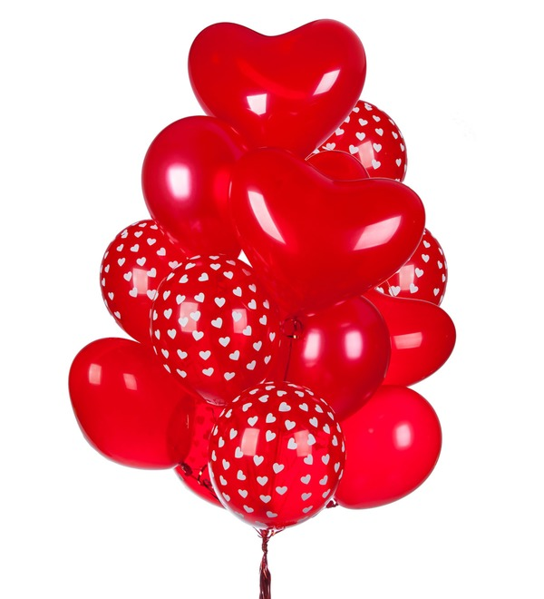Bouquet of balloons Feelings (15 or 31 balloons) – photo #1