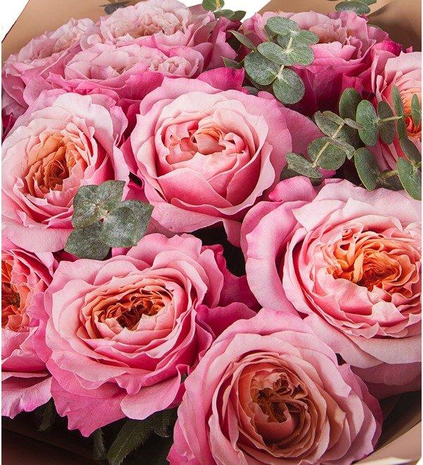 Букет Облако счастья (11, 15 или 19 роз) – фото № 2