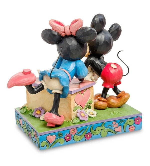 Figurine Mickey and Minnie: The booth of Kisses (Disney) – photo #3