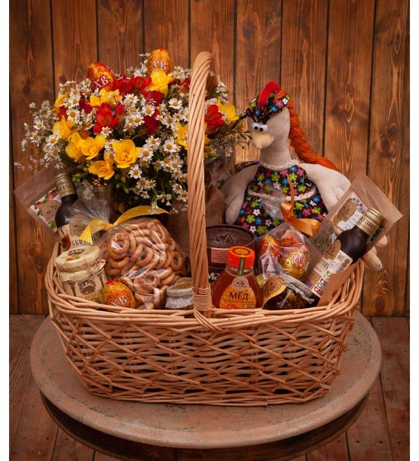 Gift basket Tea with honey – photo #1