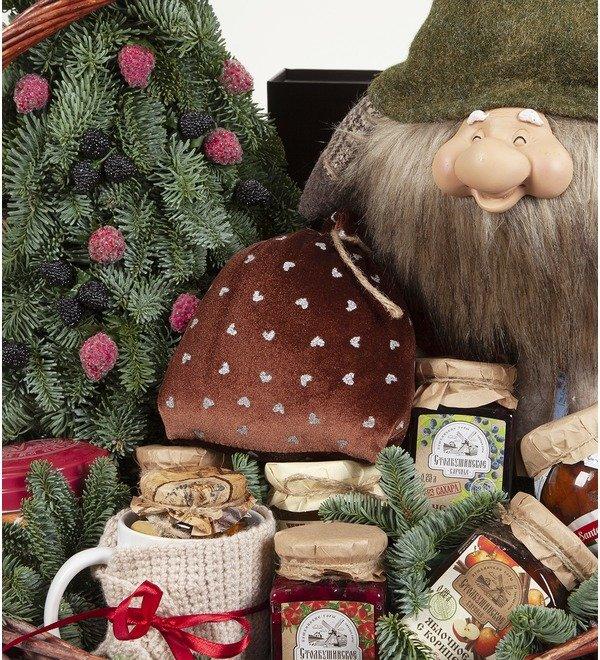 Подарочная корзина Подарки от гномика – фото № 2
