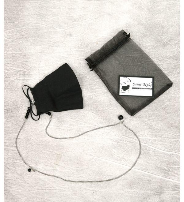 Дизайнерский аксессуар Льняная маска St.Myko – фото № 3