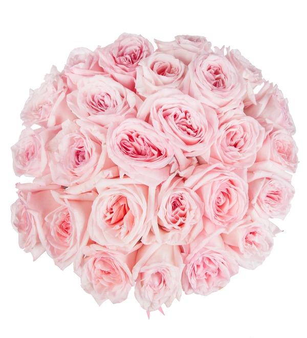 Букет ароматных пионовидных роз Pink OHara (15, 25 или 51) – фото № 3