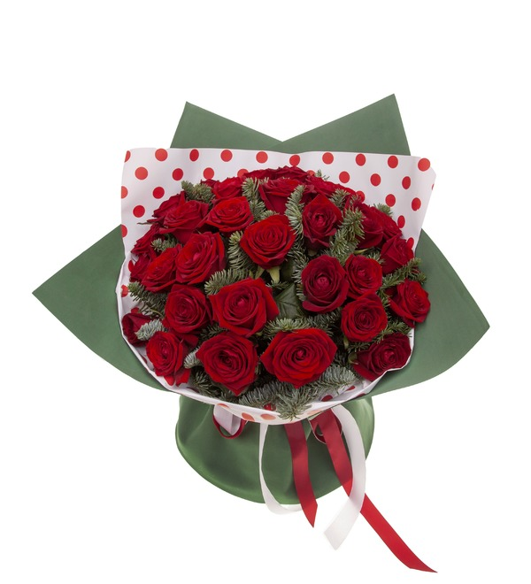 Bouquet-solo roses Grand Prix (15,25,35,51,75 or 101) – photo #5