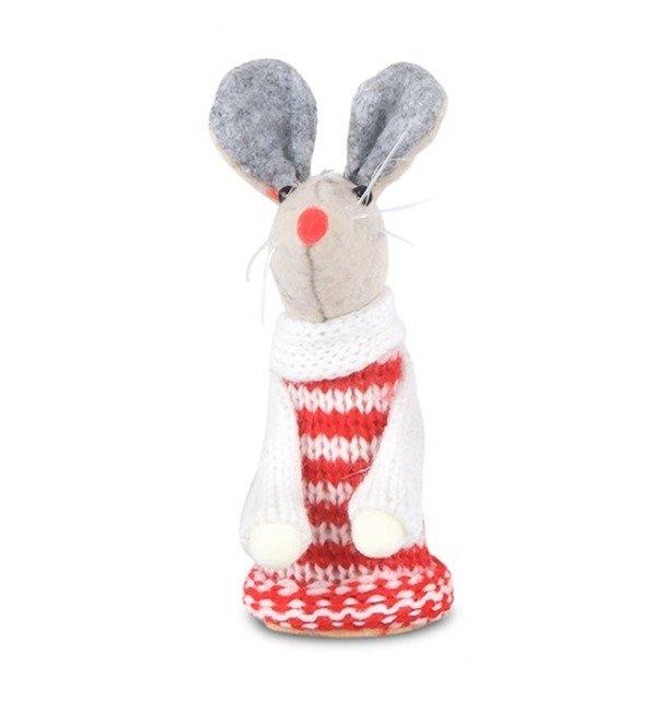 Фигурка Мышь в свитере – фото № 1